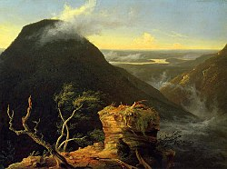 Thomas Cole: Sunny Morning on the Hudson River
