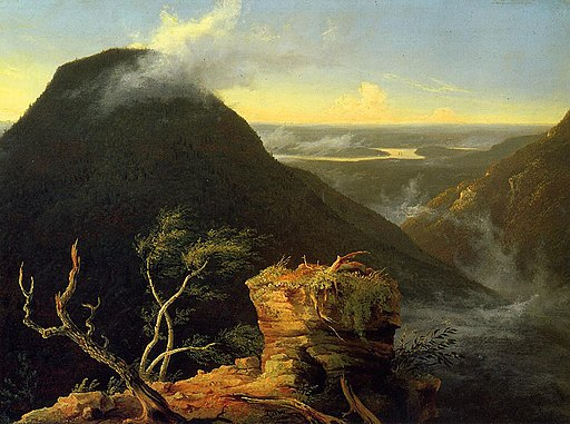 Cole Thomas Sunny  Morning on the Hudson River 1827