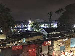 College Street (Kolkata) - College Square at Night