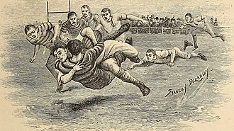 Stanley Berkeley - Image: Collared in early rugby union