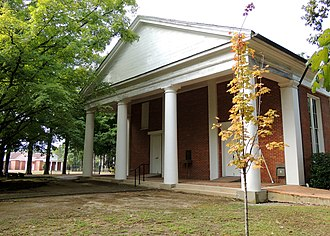 National Register of Historic Places listings in Lafayette County, Mississippi - Image: College Church