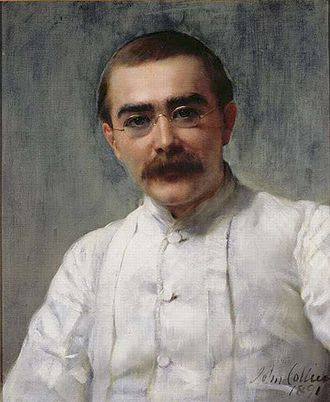 Rudyard Kipling - A portrait of Kipling by John Collier, ca. 1891