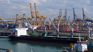 Port of Colombo Port in Sri Lanka