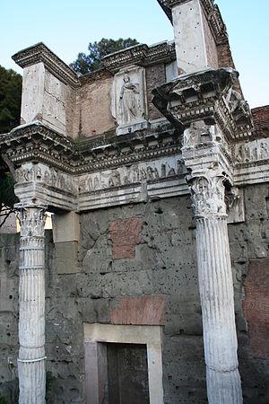 Forum of Nerva - The Colonnacce, Forum of Nerva