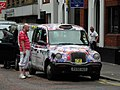 Colourful taxi, Belfast - geograph.org.uk - 1936637.jpg