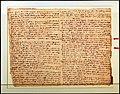 Compagnia datini di firenze, lettera indirizzata alla compagnia di barcellona datata 21-11-1394, per l'approvigionamento di lana da minorca.jpg