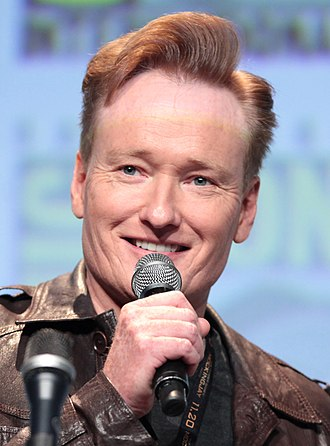 Conan O'Brien - O'Brien at the 2015 San Diego Comic-Con International.