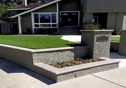 Concrete retaining wall in walnut creek ca, Built by Retaining Wall Experts