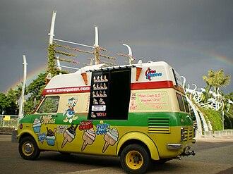 Bedford CF - Image: Cone Queen Truck Rainbow