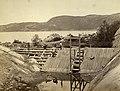 Construction de barrage à Tadoussac (Québec).jpg