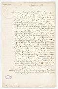 Contrat de mariage entre Molière et Armande Béjart, 23 Janvier 1662. Page 1 - Archives Nationales - ET-XLII-152 (RES-386).JPG
