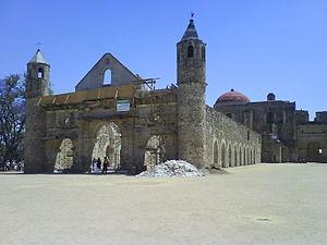 Cuilapan de Guerrero - Basilica of Cuilapan