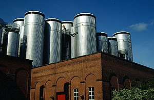 Coors Brewery, Burton on Trent.