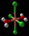 Copper(II)-chloride-dihydrate-xtal-Cu-coordination-3D-balls.png