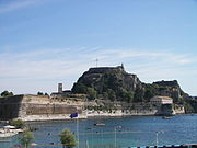 The old citadel (Palaio Frourio)
