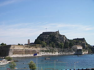 Siege of Corfu (1798–99) - The old citadel (Palaio Frourio)