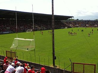 Páirc Uí Chaoimh - Munster football semi-final 2012 (prior to redevelopment)