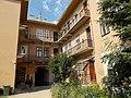 Courtyard. Listed dwelling house ID 3925. - 10, Vörösmarty Square, Székesfehérvár, Fejér county, Hungary.JPG