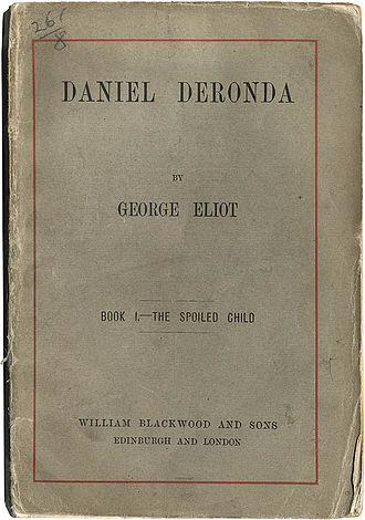 Daniel Deronda - Cover of first edition, 1876