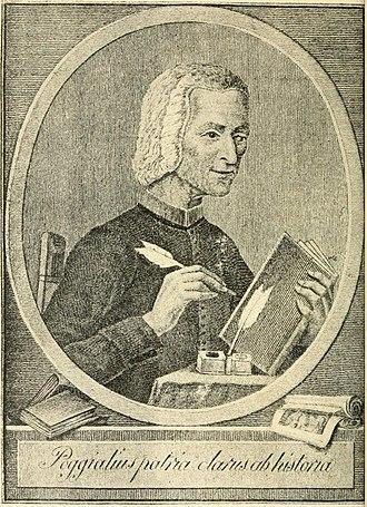 Timeline of Piacenza - Portrait of Cristoforo Poggiali, 18th century historian of Piacenza
