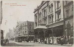 Criterion Theatre (Sydney) - Criterion Theatre, Sydney, from Pitt Street