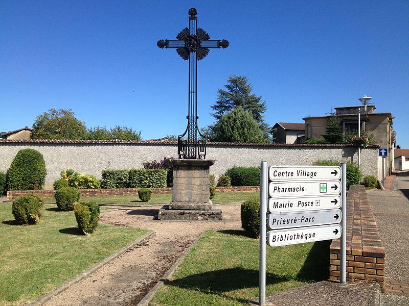 Croix à La Boisse.