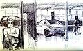 Croquis- au garage à Faro - Portugal (7176396504).jpg