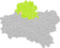 Crottes-en-Pithiverais (Loiret) dans son Arrondissement.png