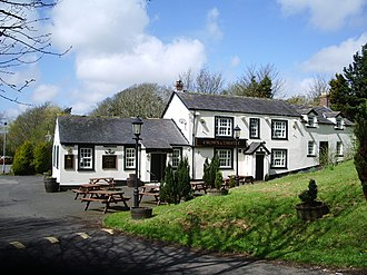 Listed buildings in Rockcliffe, Cumbria - Image: Crown and Thistle, Rockcliffe