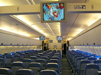Ilyushin Il-96 - Inside an Ilyushin Il-96 operated by Cubana de Aviación