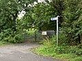Cycle route 6 sign - geograph.org.uk - 914460.jpg