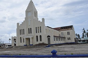 Upolu - Image: Cyclone Evan, Samoa, 2012 (10690555895)