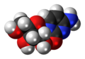 Cytidine 3D spacefill.png