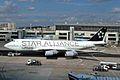 D-ABTH B747-430 Lufthansa (Star Alliance cs) FRA 31JUL05 (6546307679).jpg