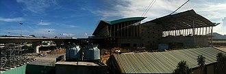 Da Nang International Airport - Construction of the new terminal in September 2010.