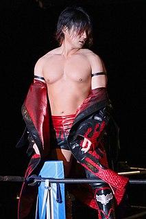 Soma Takao Japanese professional wrestler
