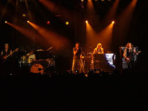 Deep Purple live at Hangar 11, Tel Aviv on 09....