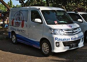 Nestlé Bear Brand - Image: Daihatsu Luxio commercial van (front), Denpasar