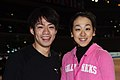 Daisuke Takahashi and Mao Asada at the 2010 World Championships.jpg