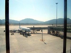 Dalaman Airport - Apron view