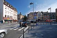 Dalbergplatz Hoechst von Norden