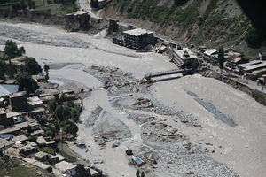 Pakistan Floods  Wikipedia A Bridge Damaged By The Flooding