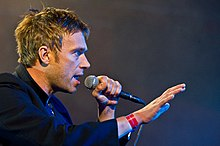 Damon Albarn - the cool, sexy,  musician  with English roots in 2017