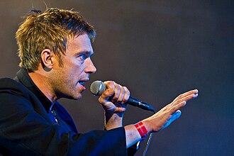 Damon Albarn - Image: Damon Albarn Gorillaz Roskilde Festival 2010