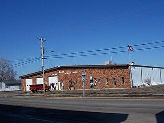 Dane, Wisconsin - Dane village hall and fire station