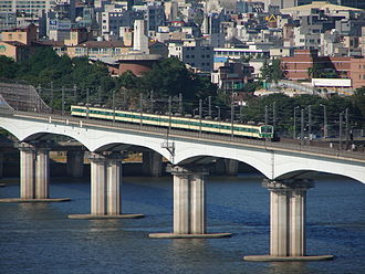 Dangsan Railway Bridge - Image: Dangsan Railway Bridge