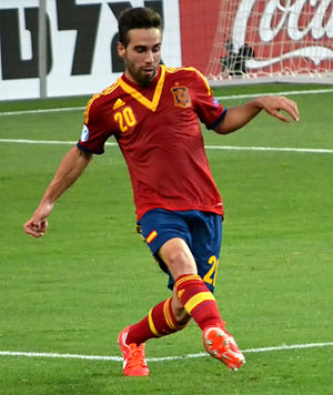 Dani Carvajal - Carvajal playing for Spain U21 in 2013.
