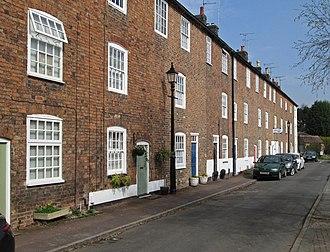Darley Abbey - Brick Row