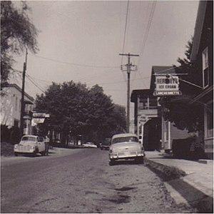 Darlington Historic District - Image: Darlington 1950s
