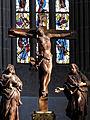 Das Münster St. Johannes in Bad Mergentheim. Kreuzigungsgruppe aus dem Jahr 1669.jpg